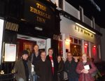 exterior of the Errigle with the Belfast SF Crew